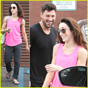 Meryl Davis Shows Off Seriously Toned Arms After 'DWTS' Practice with Maksim Chmerkovskiy