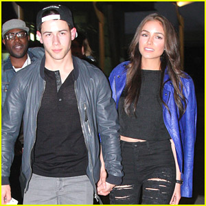Nick Jonas & Olivia Culpo: Monday Night Movie Date