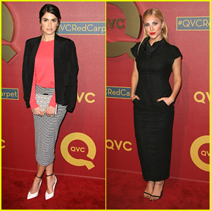 Nikki Reed & Cassie Scerbo: QVC Red Carpet Style Event