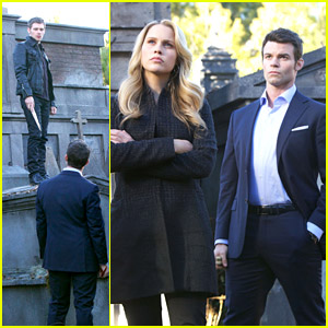Klaus, Rebekah & Elijah: Trapped in a Cemetery on 'The Originals'