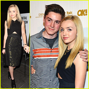 Peyton List: OK! Mag Pre-Oscar Party Pics