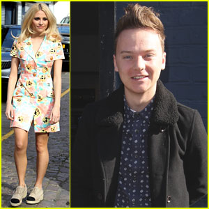 Pixie Lott & Conor Maynard Record 'Sport Relief' World Cup 2014 Song