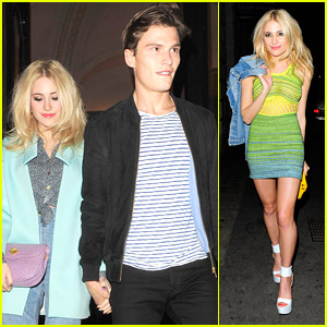 Pixie Lott Shares Late Night Dinner with Oliver Cheshire After 'Nasty' Signing