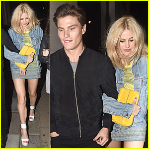 Pixie Lott & Oliver Cleshire Are Hooked On Each Other at Chakana Nightclub!