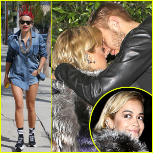 Rita Ora Gets in a Recording Session After PDA-Filled Date with Calvin Harris