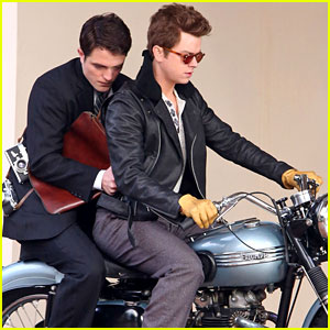 Robert Pattinson & Dane DeHaan: Motorcycle Duo for 'Life'