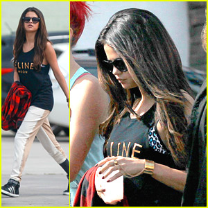 Selena Gomez: Dance Class After Oscar 2014 Parties