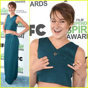 Shailene Woodley: Film Independent Spirit Awards 2014