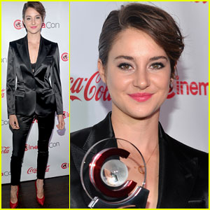 Shailene Woodley Suits Up for CinemaCon 2014!