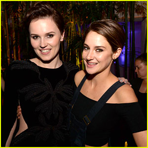 Shailene Woodley Trades in Dress for Overalls at 'Divergent' After-Party!