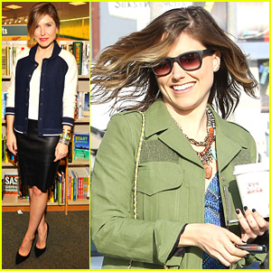 Sophia Bush Gets Colorful For King's Road Cafe Carry Out