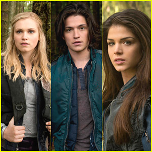 Eliza Taylor & Marie Avgeropoulos: 'The 100' Cast Pics & New Trailer!