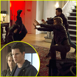 Robbie Amell & Luke Mitchell Are Taking Out The Enemy on 'Tomorrow People'