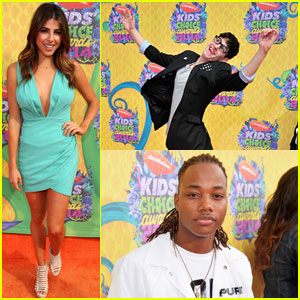 Daniella Monet, Matt Bennett & Leon Thomas Have Tons of Fun at the Kids' Choice Awards 2014!
