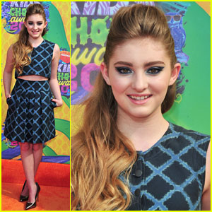 Willow Shields: 'Catching Fire' Wins Big at the Kids' Choice Awards 2014!