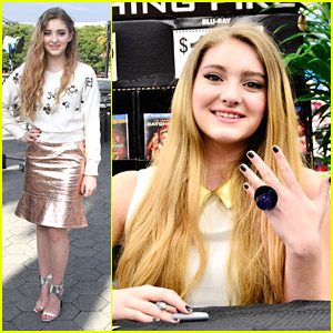 Willow Shields: 'Extra' Appearance After 'Catching Fire' Ring Pop Proposal