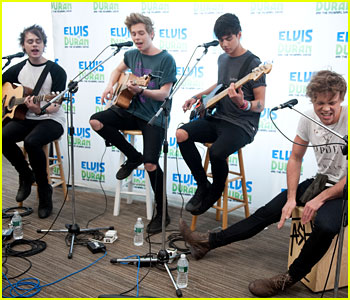 5 Seconds of Summer Perform 'She Looks So Perfect' on Elvis Duran - Watch Now!