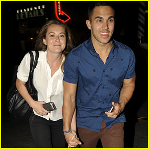 Alexa & Carlos PenaVega Support James Maslow at 'DWTS' After-Party