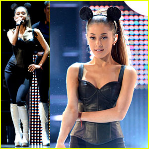 Ariana Grande is a Mouseketeer at Radio Disney Music Awards 2014!