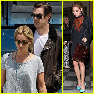Ashley Tisdale & Fiance Christopher French Step Out for Romantic Birthday Dinner!