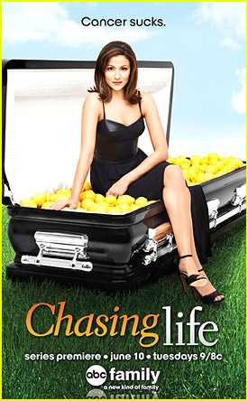 Italia Ricci: New 'Chasing Life' Poster & Promos!