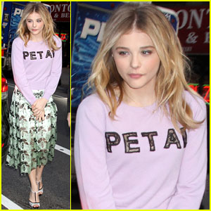 Chloe Moretz on 'The Library': It's Cool To Do Something Fresh