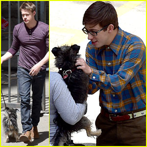 Chord Overstreet With a Dog is So Much Better Than Chord Overstreet Without a Dog