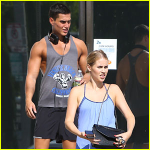 Claire Holt Hits the Gym as 'The Originals' Cast Prepares for Season Finale Filming