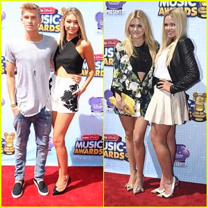 Cody Simpson & Gigi Hadid Heat Up the Radio Disney Music Awards 2014