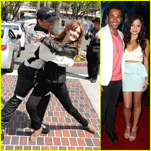 Corbin Bleu Dances with Amy Purdy at Toyota Pro/Celebrity Race - See The Pics!