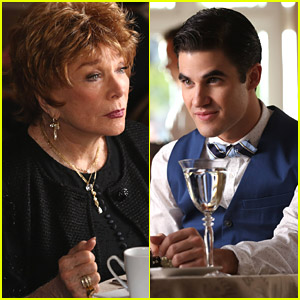 Darren Criss Dines With Shirley MacLaine on 'Glee'