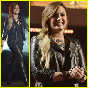 Demi Lovato Teases More U.S. Tour Dates During Surprise Appearance on 'American Idol' (Video)