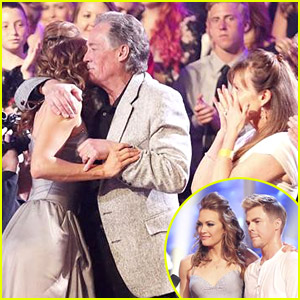 Amy Purdy Hugs Dad After Dancing With Derek Hough on 'DWTS' - See The Pics!