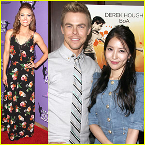 Derek Hough & BoA Premiere 'Make Your Move' After 'DWTS'