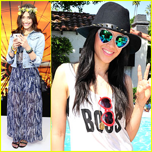 Emmy Rossum & Edy Ganem Party Up The Weekend at Coachella 2014