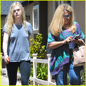 Elle Fanning Says 'Maleficent' Co-Star Angelina Jolie is 'Amazing'!