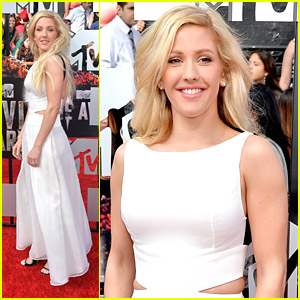 Ellie Goulding Cuts It Out at MTV Movie Awards 2014
