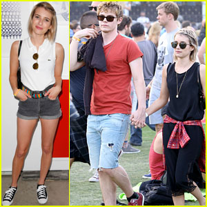 Emma Roberts & Evan Peters Hold Hands at Coachella 2014!