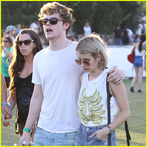 Emma Roberts & Evan Peters End 'Best Weekend Ever' at Coachella
