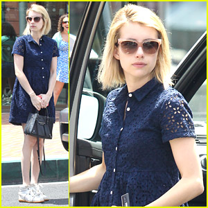 Emma Roberts Flashes Back To Coachella 2014