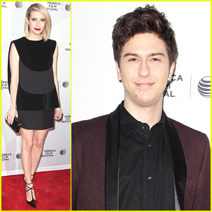 Emma Roberts & Nat Wolff Premiere 'Palo Alto' at Tribeca 2014
