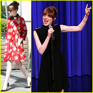Emma Stone Engages in Lip Sync Battle with Jimmy Fallon!