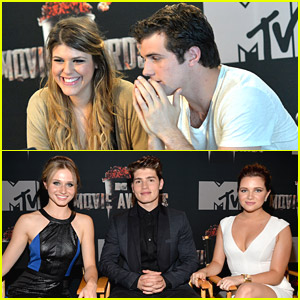 The Casts of 'Awkward' & 'Faking It' Promote MTV Movie Awards 2014