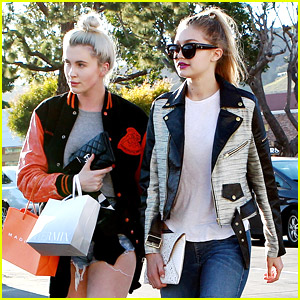 Gigi Hadid Shops With Ireland Baldwin After 'Surfboard' Video Shoot