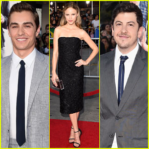 Halston Sage & Dave Franco Are All Smiles at the 'Neighbors' L.A. Premiere!