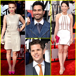 Holland Roden & Tyler Hoechlin - MTV Movie Awards 2014