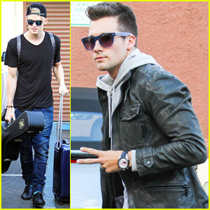 James Maslow & Cody Simpson Prepare for 'DWTS' Switch-Up!