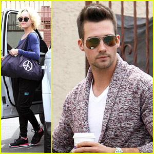 James Maslow & Peta Murgatroyd: 'It Would Suck If We Didn't Get Along'