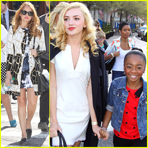 Debby Ryan: White House Easter Egg Roll with 'Jessie' Cast!