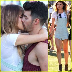 Joe Jonas and Blanda Eggenschwiler Make Out at Coachella!